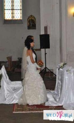 Śliczna suknia ślubna z salonu A.Skrzyszowskiej