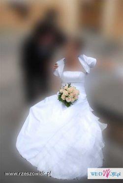 Śliczna suknia ślubna z salonu Afrodyta