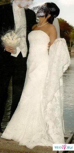 Śliczna Suknia Ślubna z salonu Madonna OKAZJA