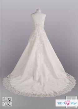 Śliczna suknia ślubna z USA!