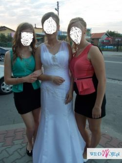 Sliczna suknia slubna za grosze okazja!!!