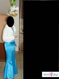 śliczna suknia syrena