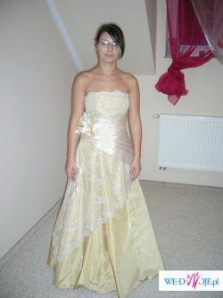sliczna suknia szyta na wzór AGNES