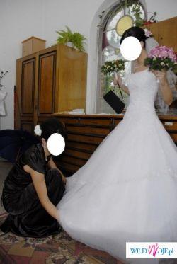 Śliczna suknia tiulowa - księżniczka