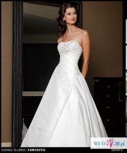 sliczna suknia z kolekcji herm's 2010 za jedyne 800 zł
