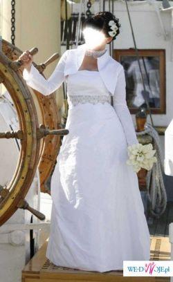 Śliczna suknia z salonu Marietta