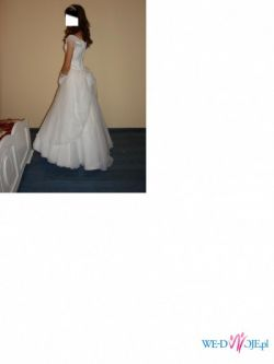 Śliczna suknie ślubna niedrogo