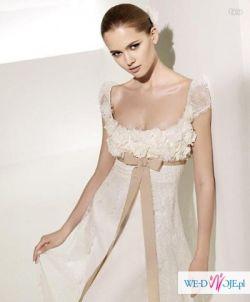 Śliczna suknie ślubna za 401,3 zł+koszty przesyłki! NOWA!
