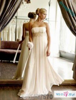 Śliczna suknie ślubna za 477,6 zł+koszty przesyłki! NOWA!