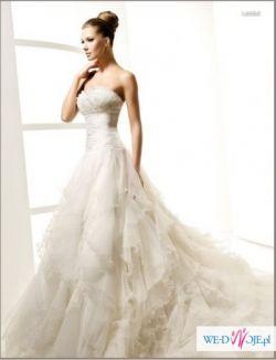 Śliczna suknie ślubna za 553,83 zł+koszty przesyłki! NOWA!