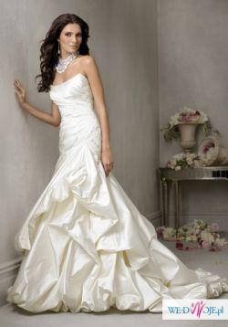 Śliczna suknie ślubna za 566,5zł+koszty przesyłki! NOWA!