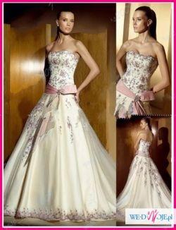 Śliczna suknie ślubna za 627,5 zł+koszty przesyłki! NOWA!