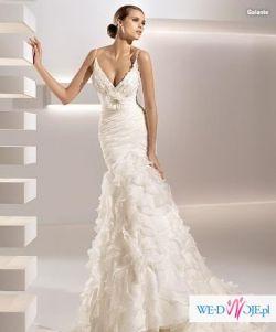 Śliczna suknie ślubna za 718,55 zł+koszty przesyłki! NOWA!