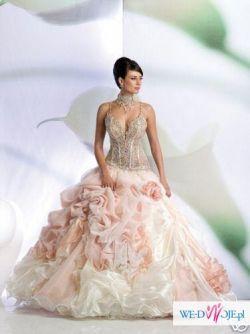 Śliczna suknie ślubna za 810,1 zł+koszty przesyłki! NOWA!