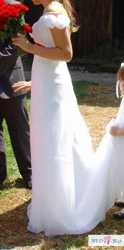 Śliczna włoska suknia ślubna Lilea