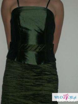 ŚLiczna zielona suknia rozm.38