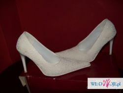 śliczne buciki ślubne