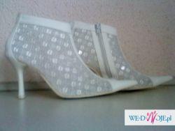 śliczne butki ślubne