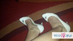 Śliczne buty ślubne