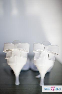 Śliczne buty ślubne- rozm. 39- SUPER OKAZJA!!