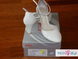 Śliczne pantofelki ślubne