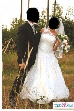 Śliczne suknie ślubna wzór Cymbeline