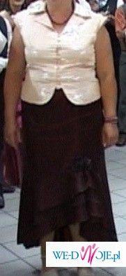 śliczny komplet bluzka + spodnica roz.50