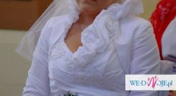 Ślliczna suknia ślubna rozmiar 38 wzrost 160 cm