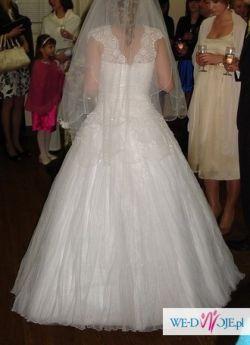 Ślubna suknia Impresja 161+8 obcas