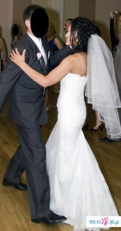 Ślubna suknia marzeń!!! r.36/38 La Sposa model Ferida 2009 (welon - gratis)