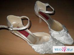 ślubne buty ECRU ROZMIAR 37