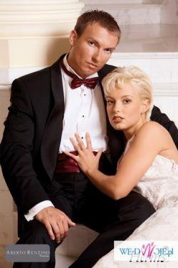 Smoking ABERTO RENZINO ślub, wesele, bal, NOWY