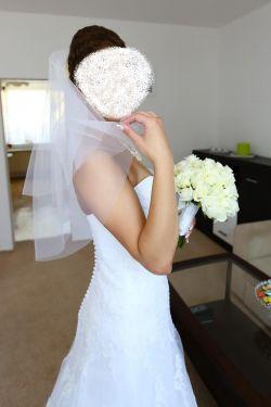 5333f9a7bd Śnieżnobiała suknia ślubna z salonu! Gratisy! - Suknie ślubne ...
