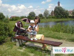 ! SOLIDNY WÓZEK POMPOWANE KOŁA 3-funkcyjny: gondola -- spacerówka -- nosidełko