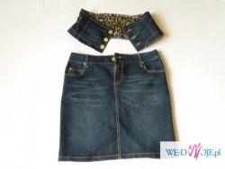 Spódnica ciążowa (jeans) Rozmiar: L  Cena:40zł