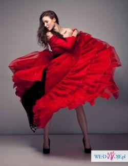 Spódnica flamenco