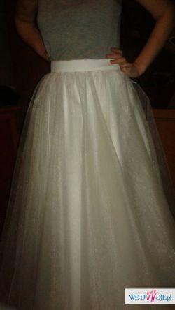 spódnica z sukni ślubnej