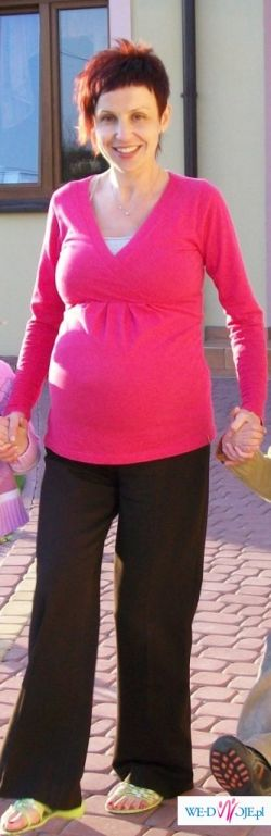 spodnie, bluzeczki ciążowe rozm 38-40