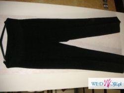 Spodnie ciażowe czarne rozmiar 42