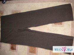 Spodnie ciażowe czekoladowy brąz rozmiar 42