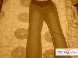 Spodnie ciążowe dżinsy
