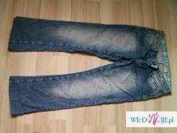 spodnie jeansy Butik rozm L