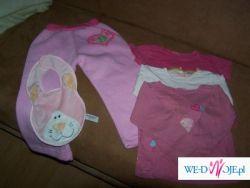 Spodnie niemowlęce + t-shirty