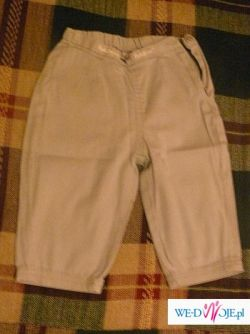 Spodnie szare