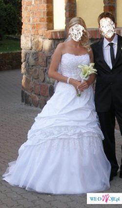 SPOSABELLA 117- Bajecznie piękna suknia!!!