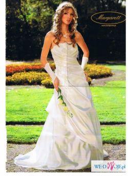 Sprzeam piękną suknie ślubną