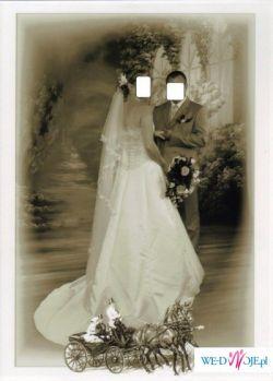 Sprzeda śliczną suknię ślubną