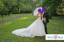 Sprzedaję piękną suknię ślubną Demetrios 9597
