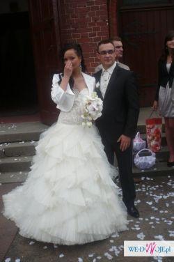 Sprzedam  bajeczną suknię ślubną !! Kenzo !!!