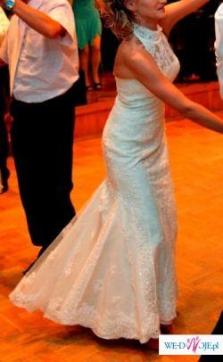 Sprzedam bajeczną suknię White One model 207.